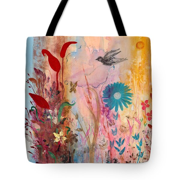 Persephone's Splendor Tote Bag