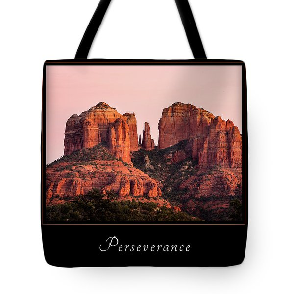 Tote Bag featuring the photograph Perserverance 3 by Mary Jo Allen