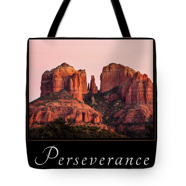 Perseverance Tote Bag by Mary Jo Allen