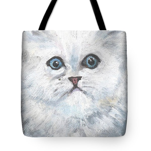 Persian Kitty Tote Bag by Jessmyne Stephenson