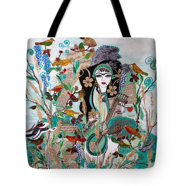 Persian Painting # 2 Tote Bag