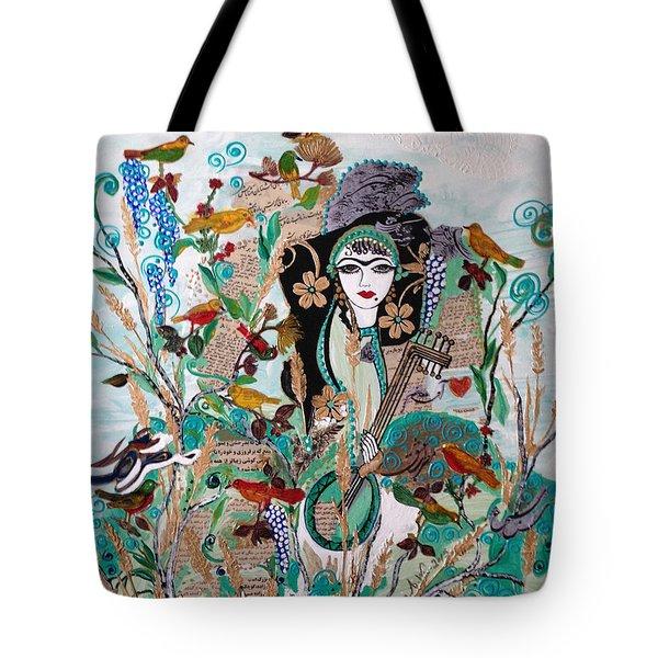 Persian Painting # 2 Tote Bag