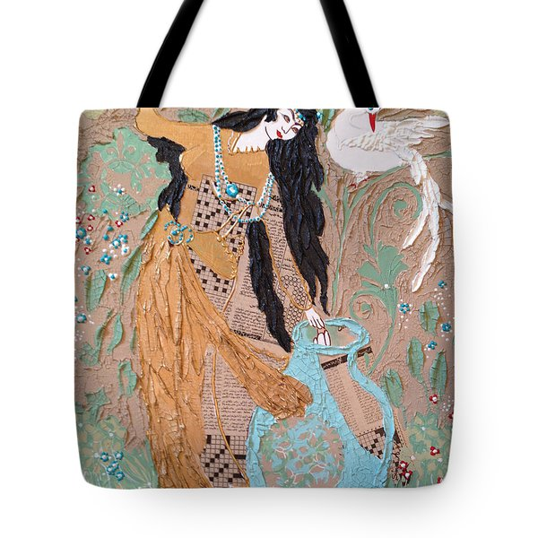 Persian Painting 3d Tote Bag