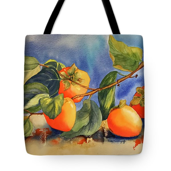 Persimmons Tote Bag
