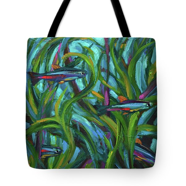 Persistent Fish Betta  Tote Bag by Robert Phelps