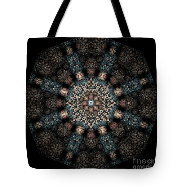 Tote Bag featuring the digital art Persnickety Palpitations Of Magnificent Malformations by Rhonda Strickland