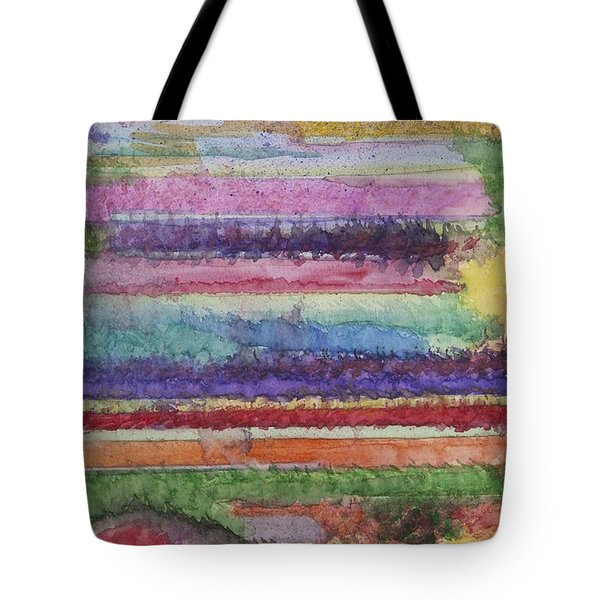 Tote Bag featuring the painting Perspective by Jacqueline Athmann