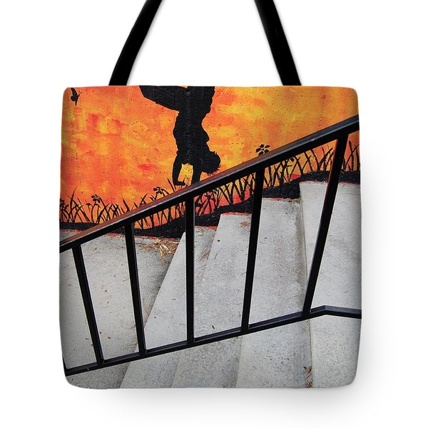 Perspective Tote Bag by Merrimon Crawford