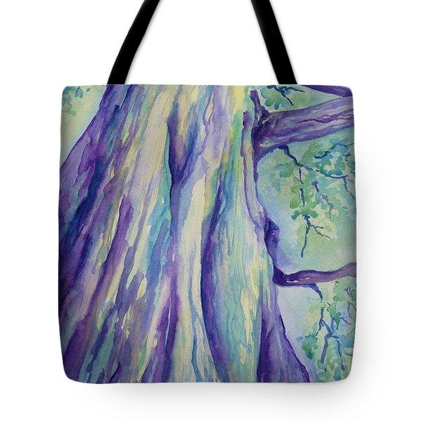 Perspective Tree Tote Bag by Gretchen Bjornson