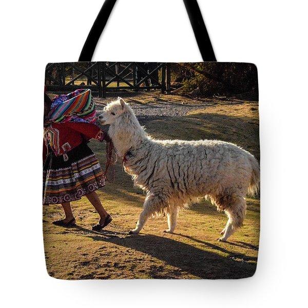 Peru Tote Bag by Will Burlingham