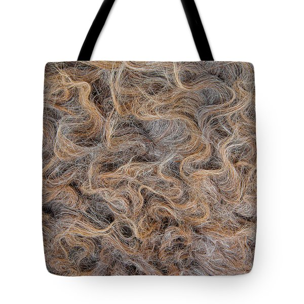 Tote Bag featuring the photograph Peruvian Burro Curls by Britt Runyon
