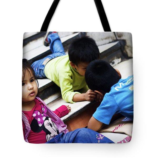 Peruvian Playtime Tote Bag