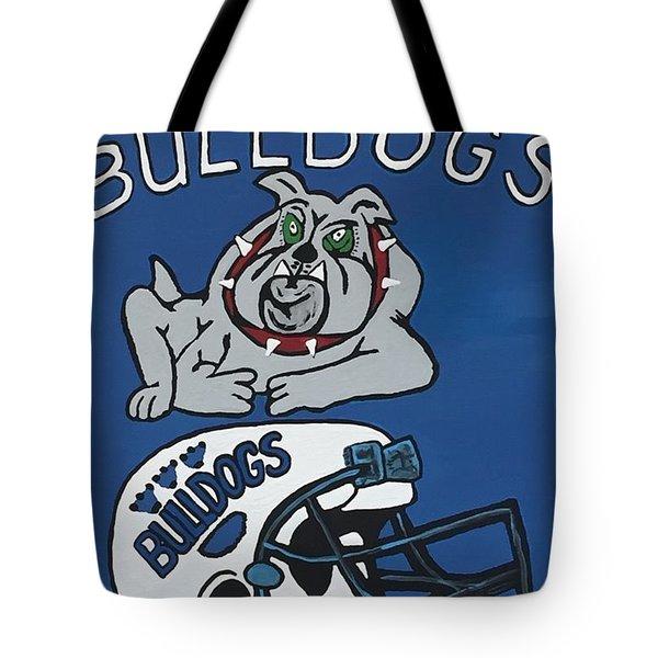 Peshtigo Bulldogs Tote Bag by Jonathon Hansen
