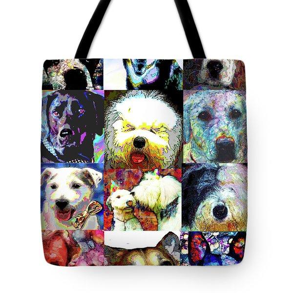 Pet Portraits Tote Bag