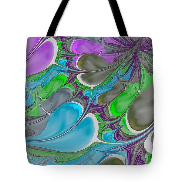 Petal Garden Tote Bag