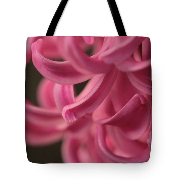 Tote Bag featuring the photograph Petal Pointing  by Connie Handscomb