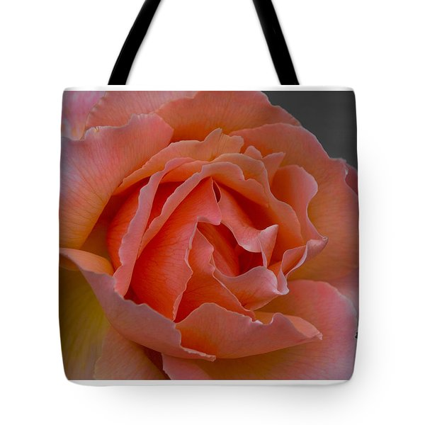 Tote Bag featuring the photograph Petal by R Thomas Berner