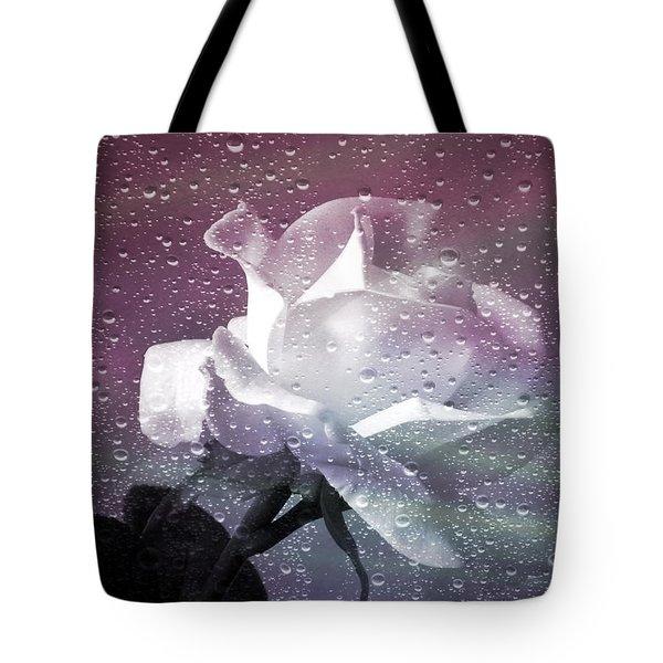 Petals And Drops Tote Bag