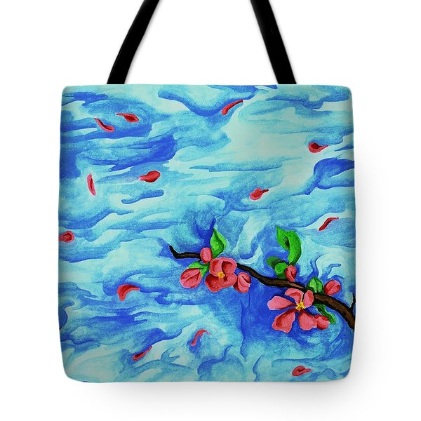 Petals In The Wind I Tote Bag by Robert Morin