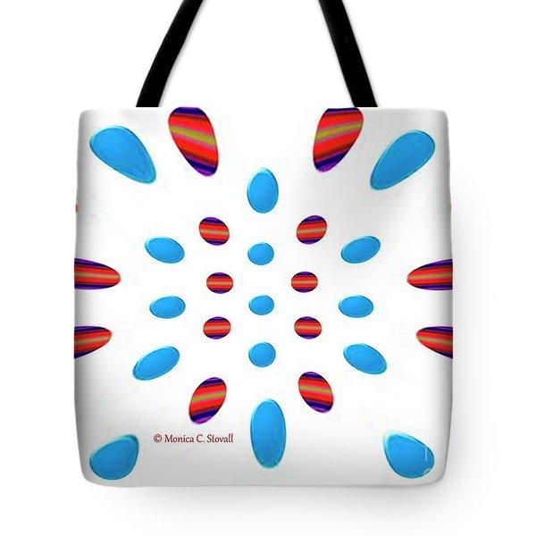 Petals N Dots P5 Tote Bag