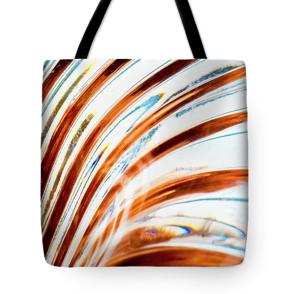 Tote Bag featuring the photograph Petals Of Glass by Wendy Wilton