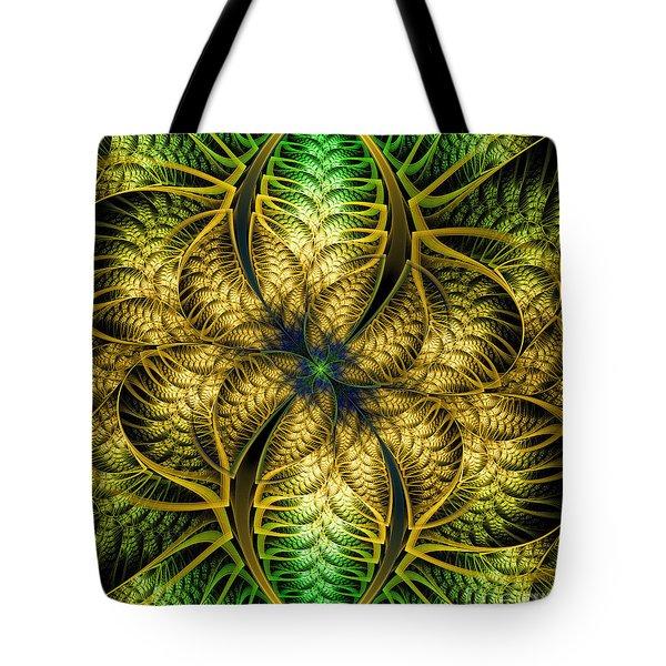 Petals Of Life Tote Bag