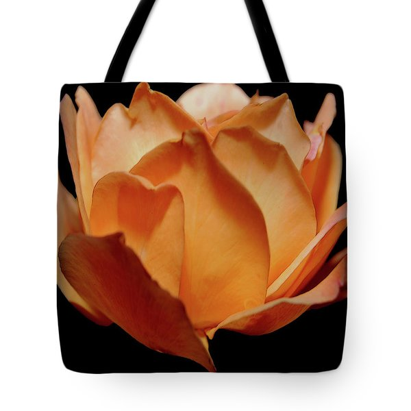 Petals Of Orange Sorbet Tote Bag