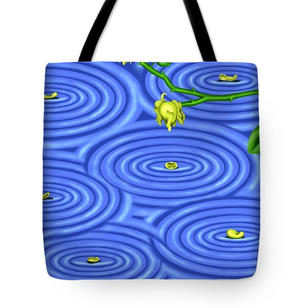 Petals On Water IIi Tote Bag