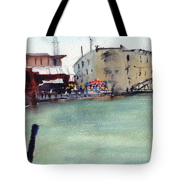 Petaluma Turning Basin Tote Bag