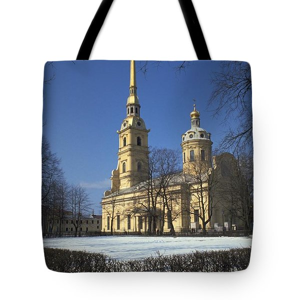Peter And Paul Cathedral Tote Bag