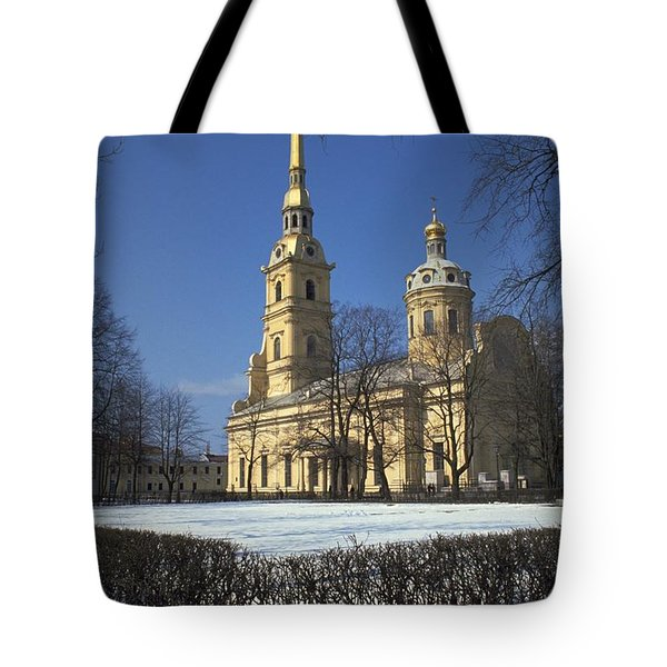 Peter And Paul Cathedral Tote Bag by Travel Pics
