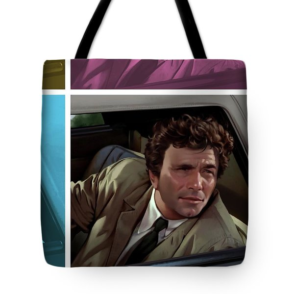 Peter Falk 1973  Tote Bag