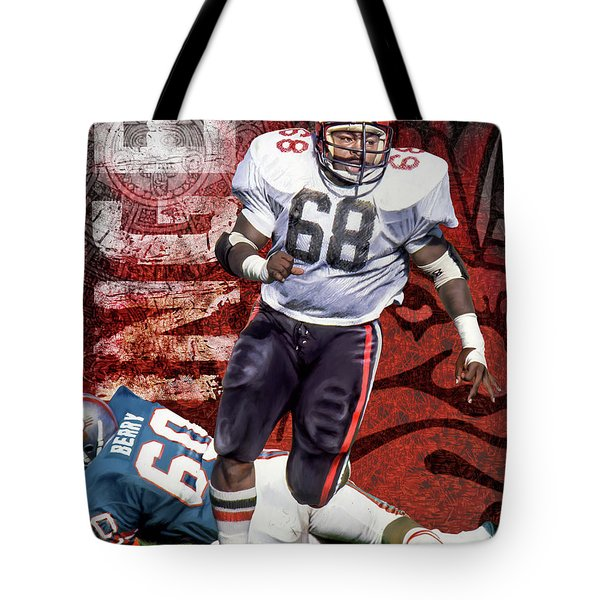 Tote Bag featuring the photograph Peter Inge by Don Olea