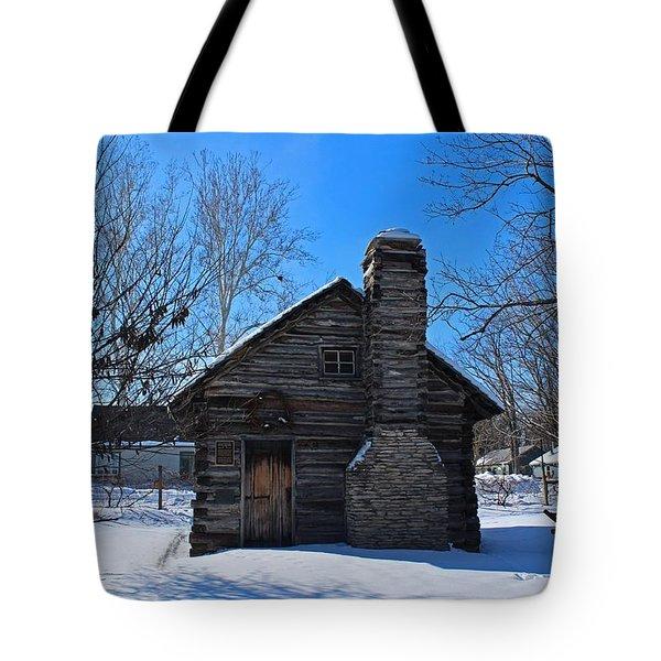 Peter Navarre Cabin I Tote Bag