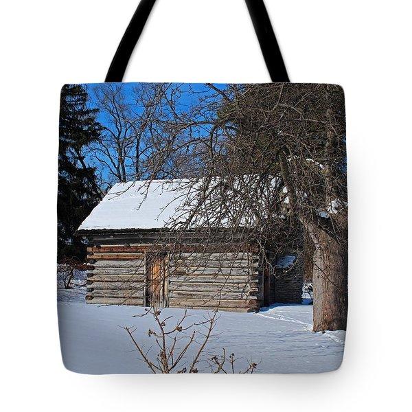 Peter Navarre Cabin II Tote Bag