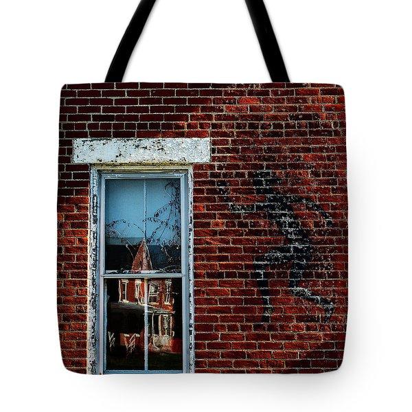 Peter Pan's Shadow Tote Bag