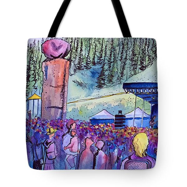Peter Rowen At Copper Mountain Tote Bag by David Sockrider