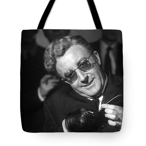 Peter Sellers As Dr. Strangelove Number One Color Added 2016 Tote Bag