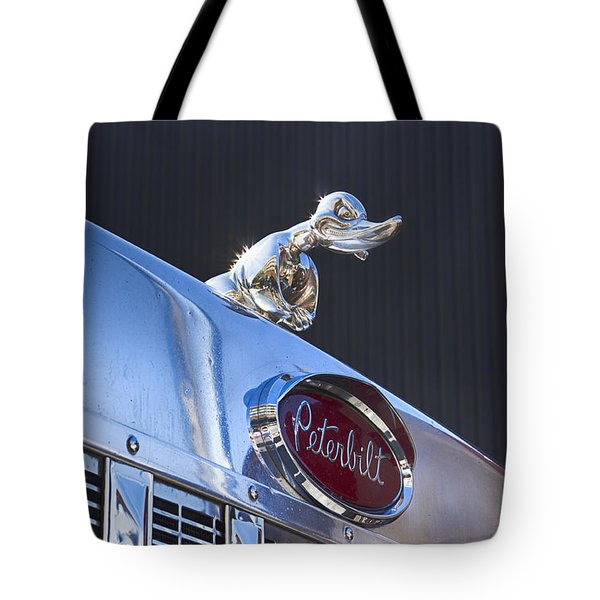 Peterbilt Angry Duck Tote Bag
