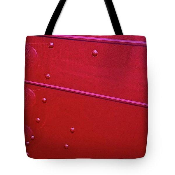 Peterbuilt Hood And Lamps Tote Bag