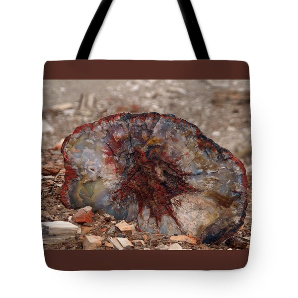 Tote Bag featuring the photograph Peterified Jewel by Melissa Peterson