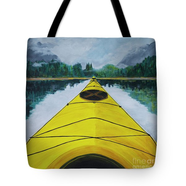 Petersburg Creek Tote Bag