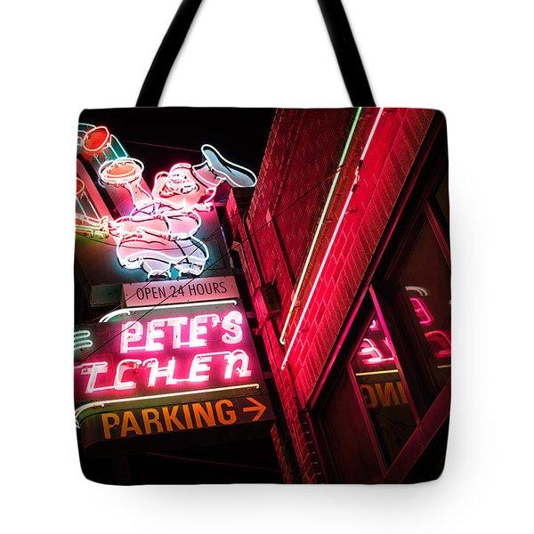 Pete's On Colfax Tote Bag