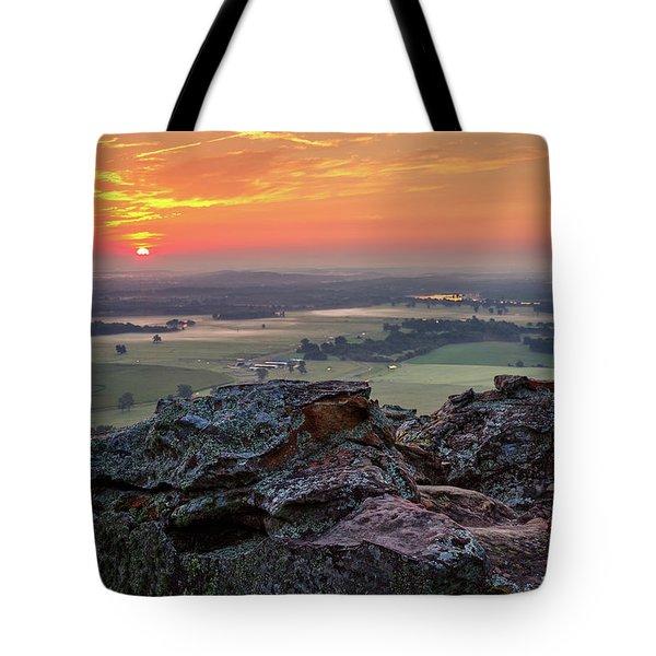 Petit Jean Sunrise Tote Bag