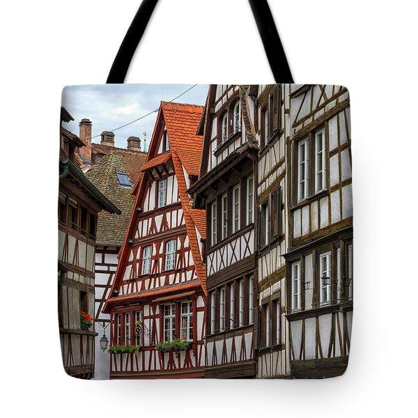 Petite France Houses, Strasbourg Tote Bag