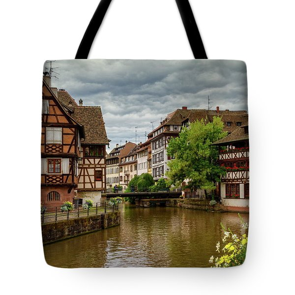 Petite France, Strasbourg Tote Bag by Elenarts - Elena Duvernay photo