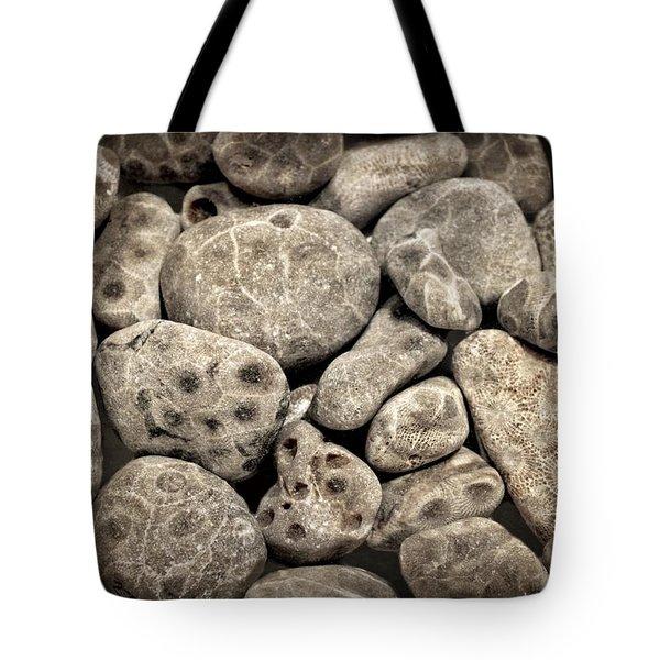 Petoskey Stones Vl Tote Bag