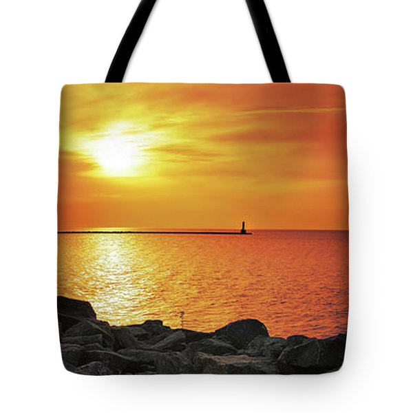 Petoskey Sunset Tote Bag
