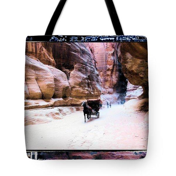 Petra Rocks In Many Ways Tote Bag