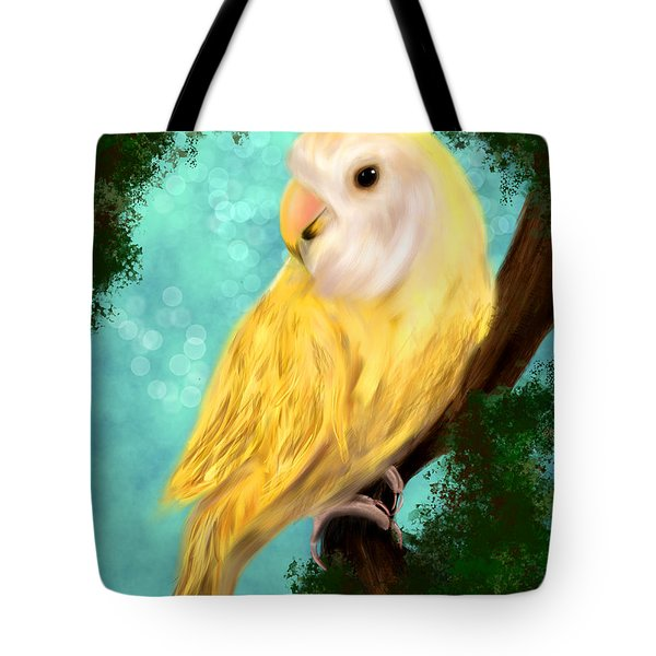 Petrie The Lovebird Tote Bag